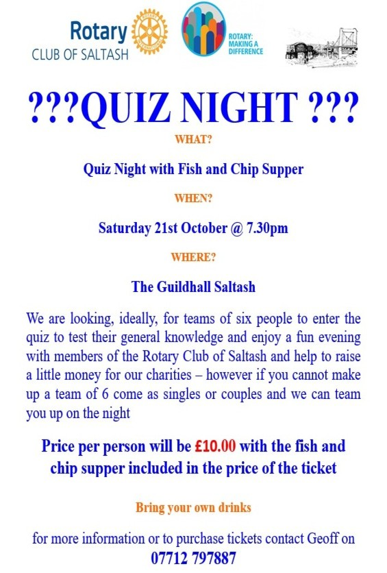 Quiz Night October 2017 two