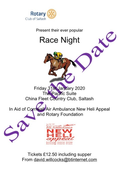 Race Night poster 2019 new