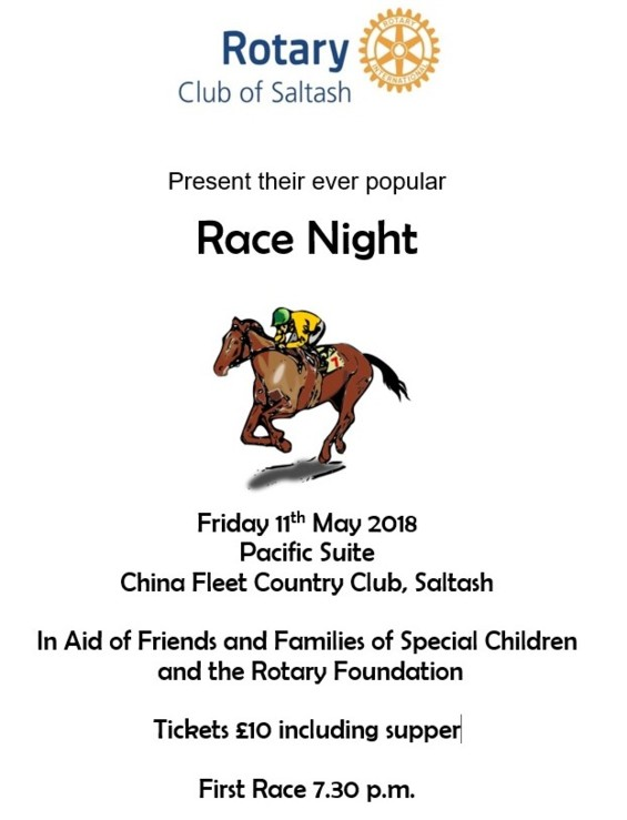 Rotary Club Race Night Web poster 2018 2