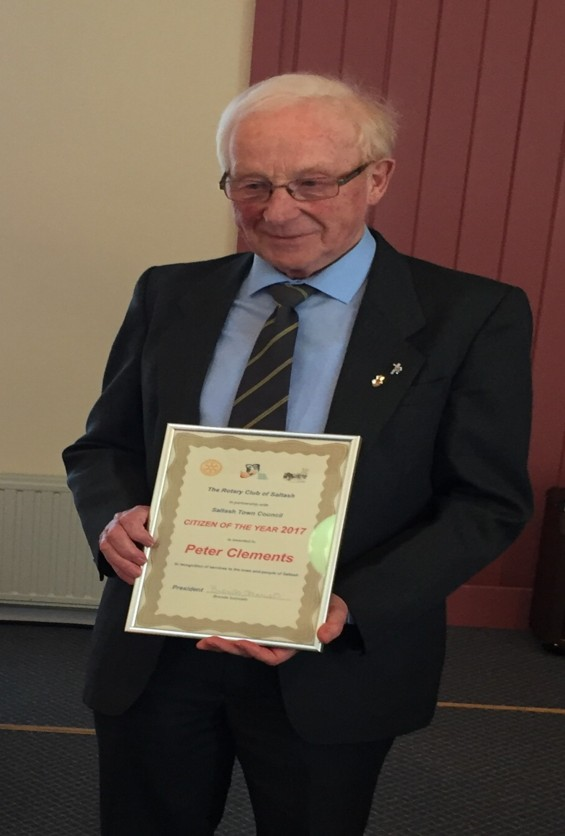Saltash Rotary Club Citizen of the Year 2017