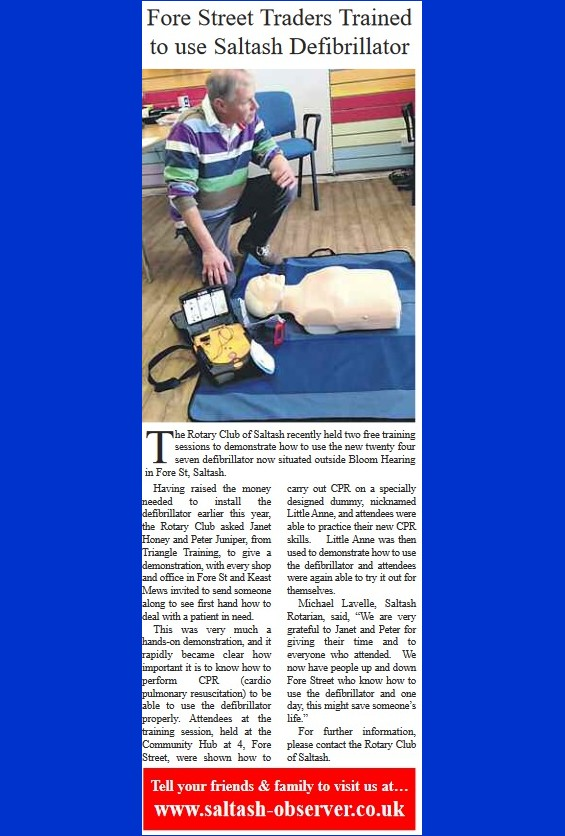 Saltash Rotary Defib training web picture