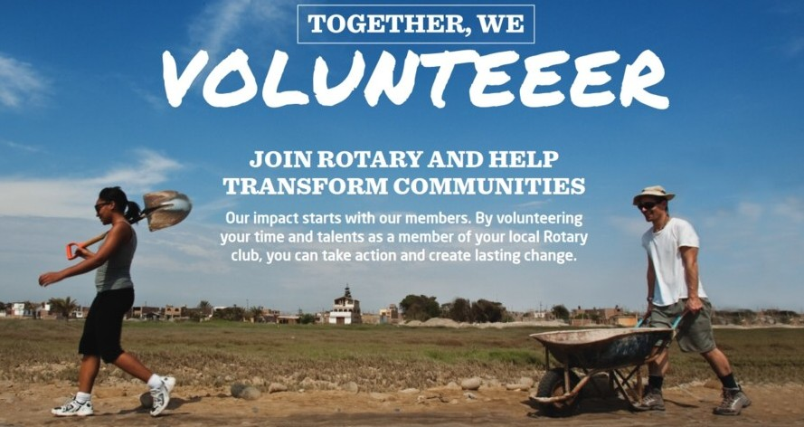 Volunteer with Rotary