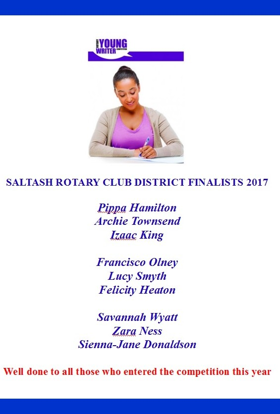 Web site Young Writer District 2017
